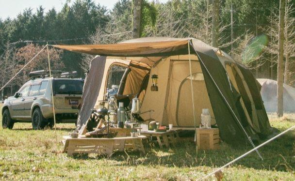 小川キャンパルのテント
