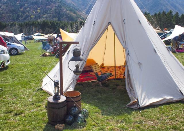 独特なテント