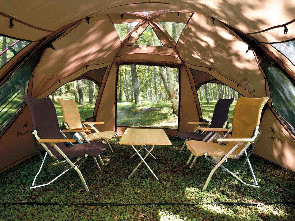 ドックドームのテント