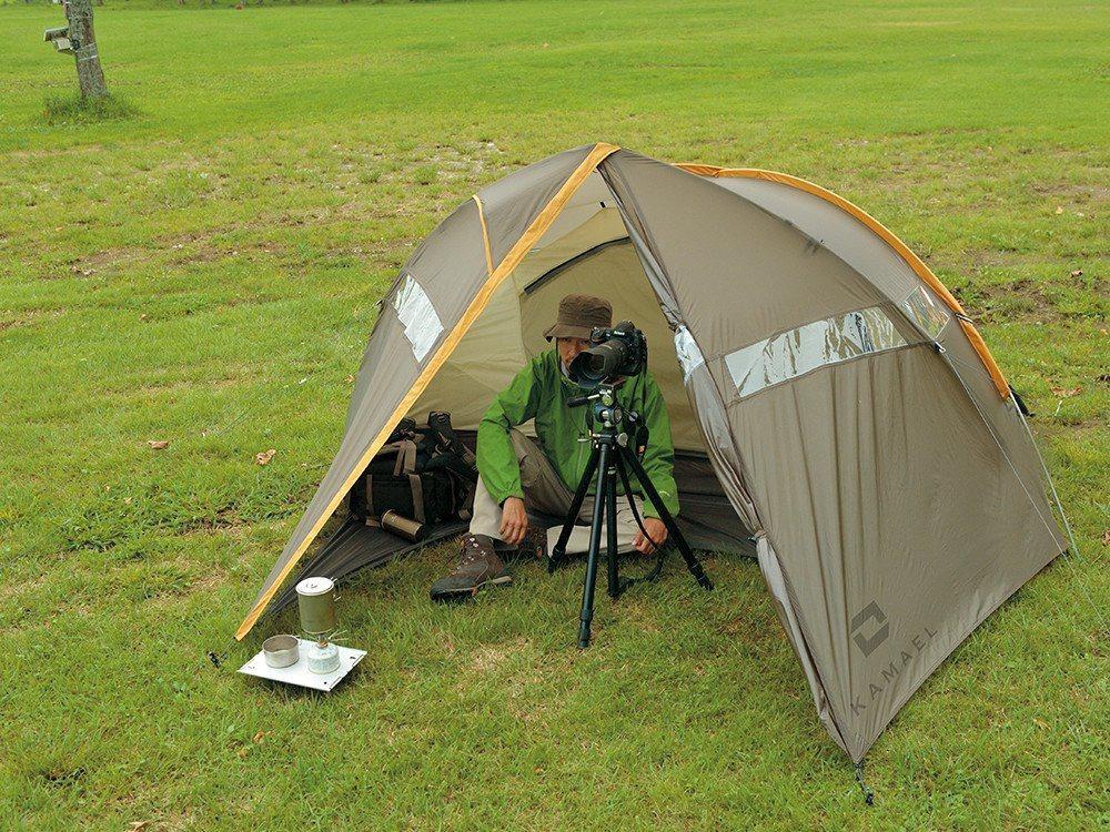 カメラマン用テント