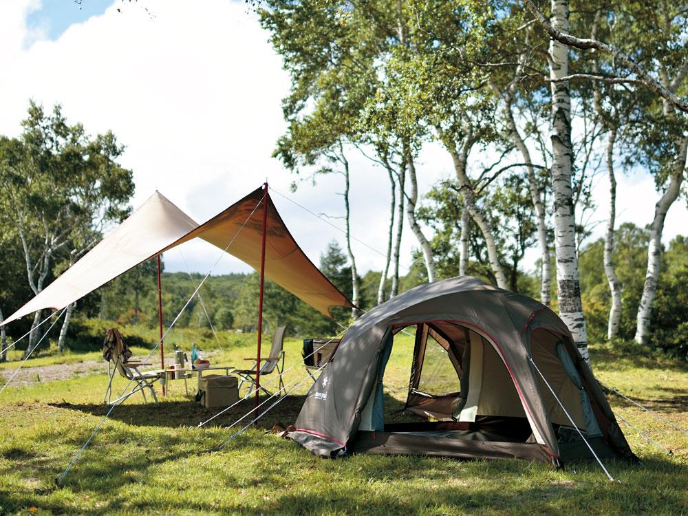 ランドブリーズのテント