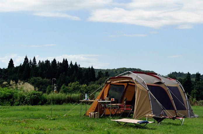 ランドロックのテント