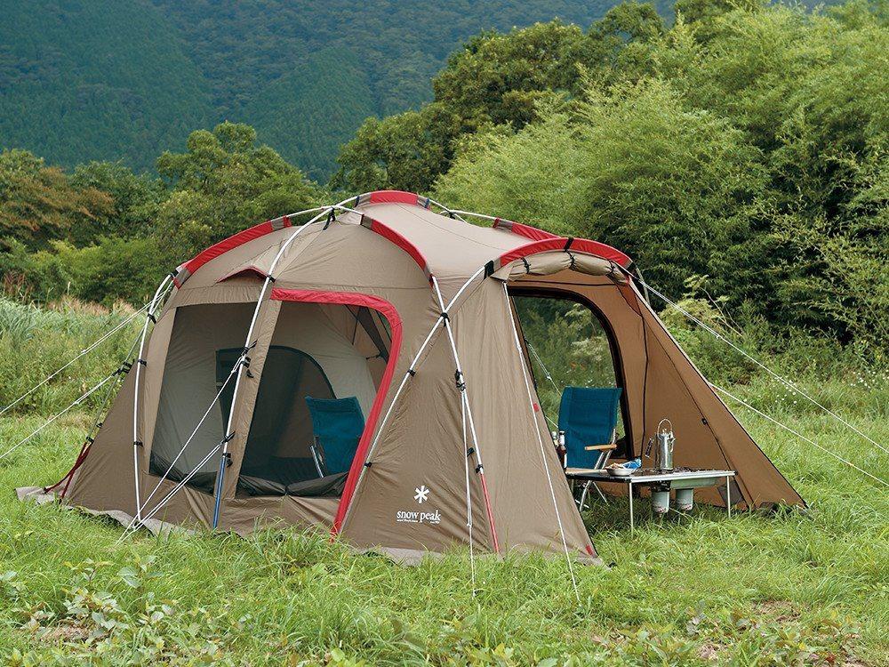 タシークのテント