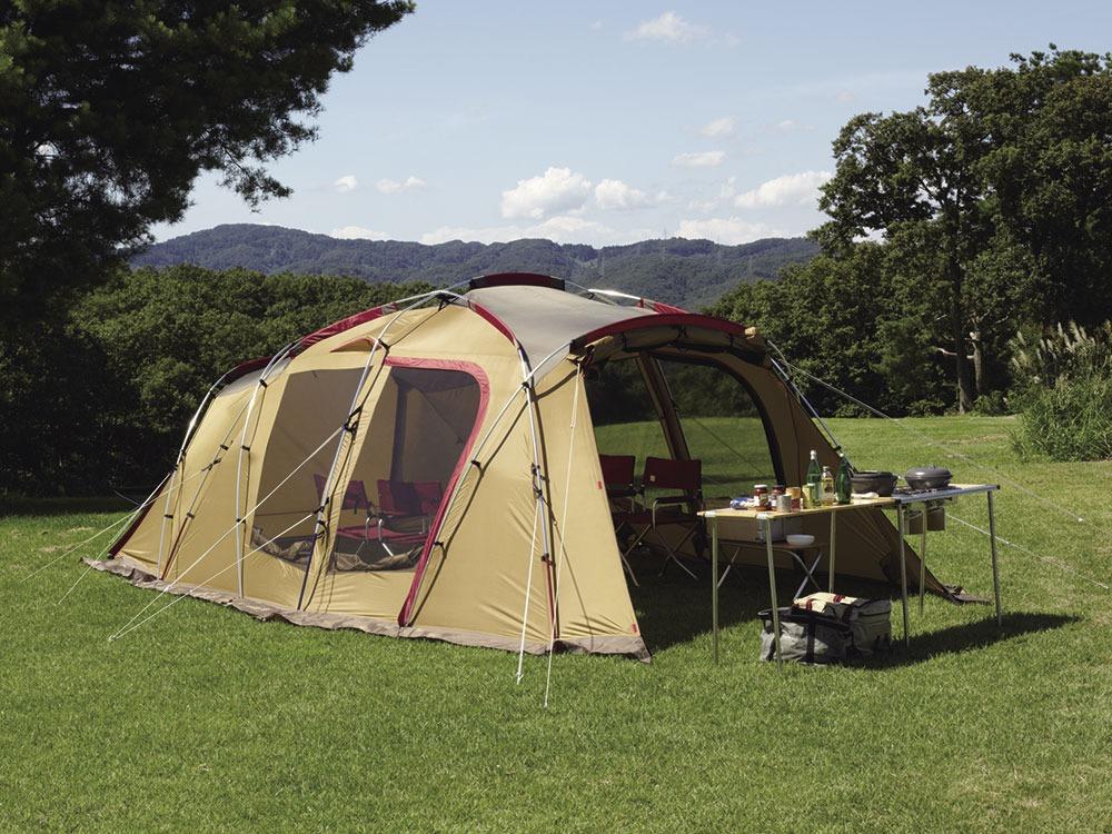 トルテュ ライトのテント
