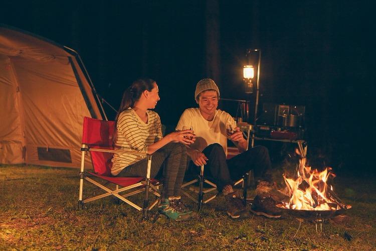 コールマンのキャンプ
