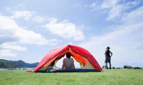 コールマンのシンプルなテント