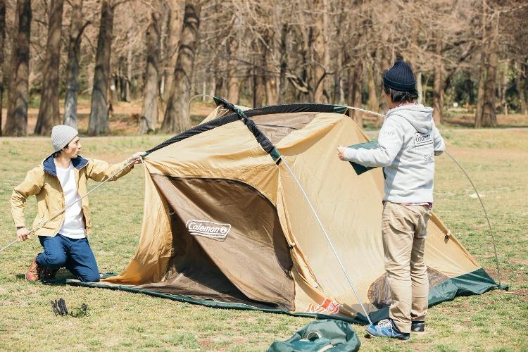 コールマンのテント