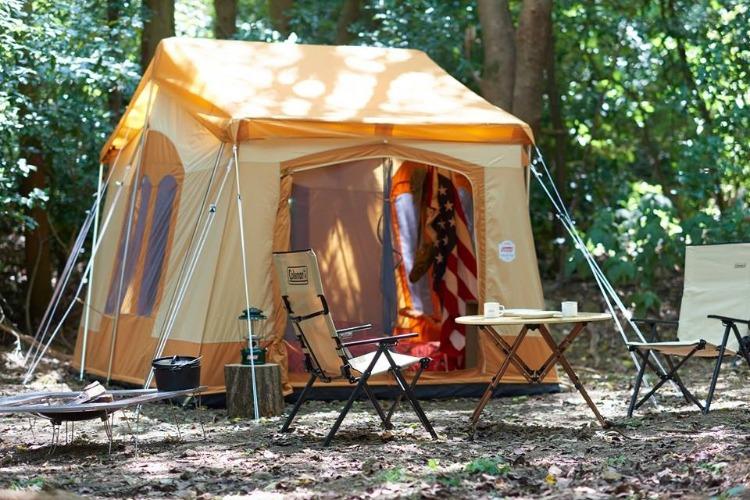 コールマンのヴィンテージテント