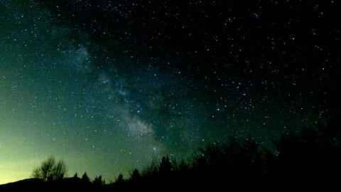浅間の星空